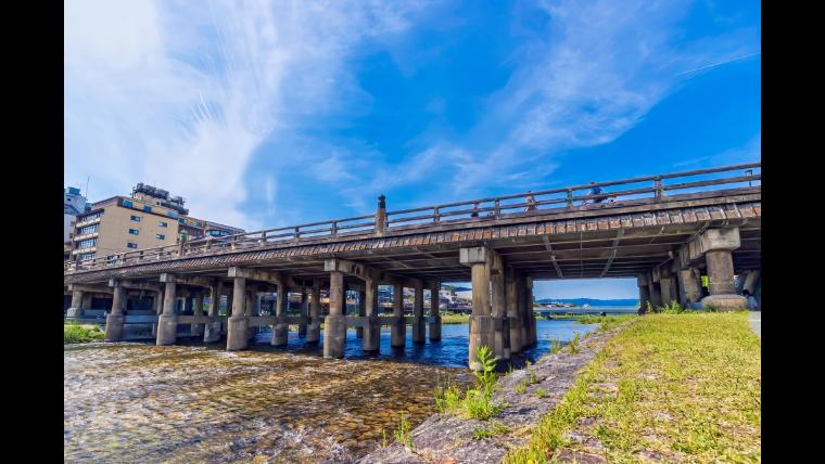 京都の三条大橋